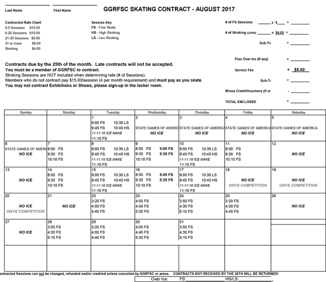 GGRFSC AUGUST 2017 CONTRACT