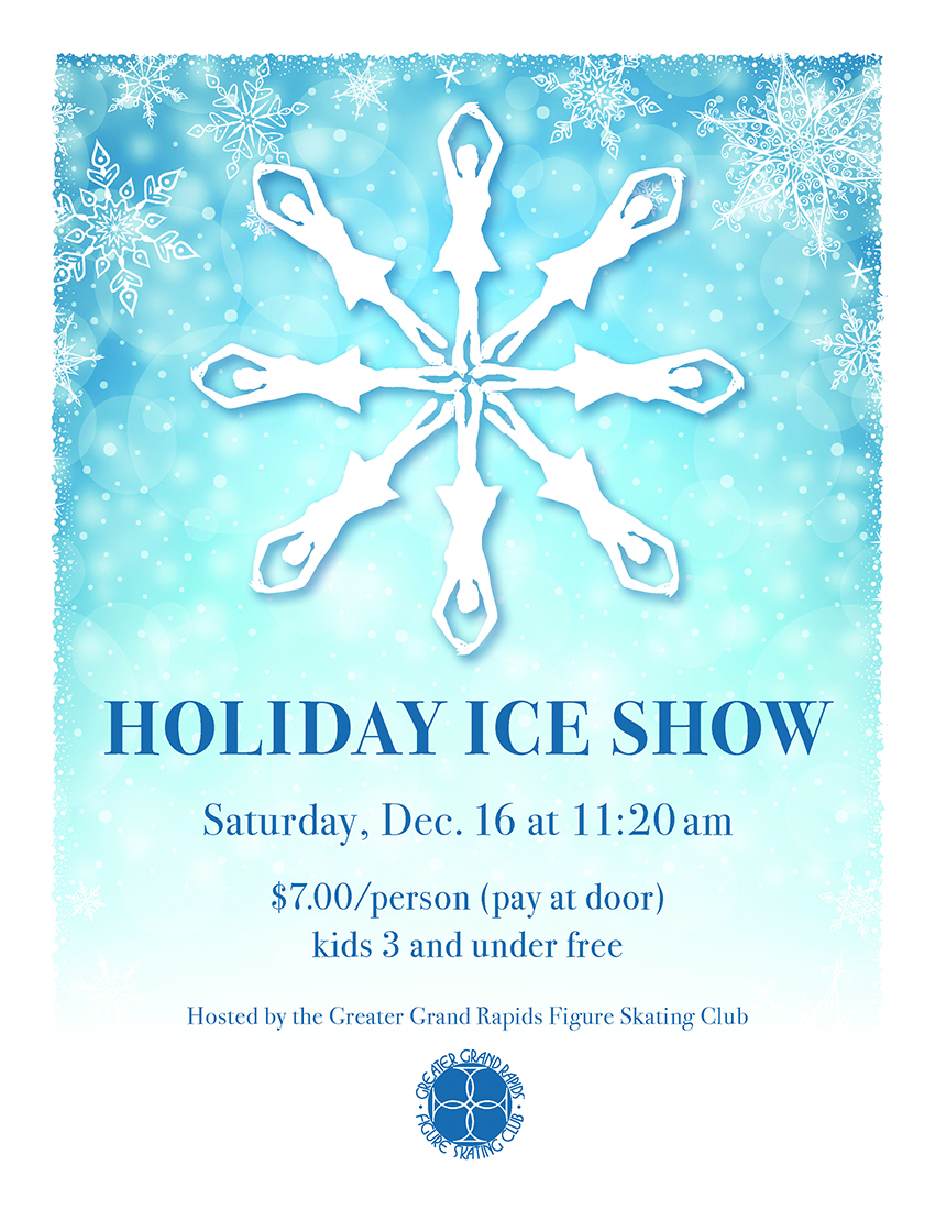 2017 Holiday Ice Show Poster s