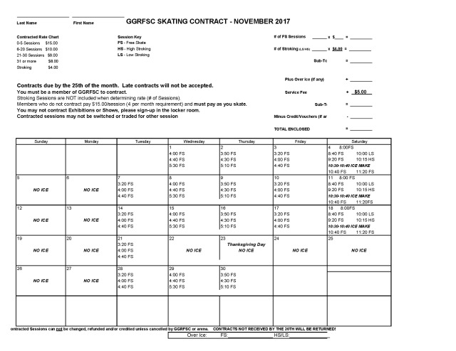 GGRFSC NOVEMBER 2017 CONTRACT
