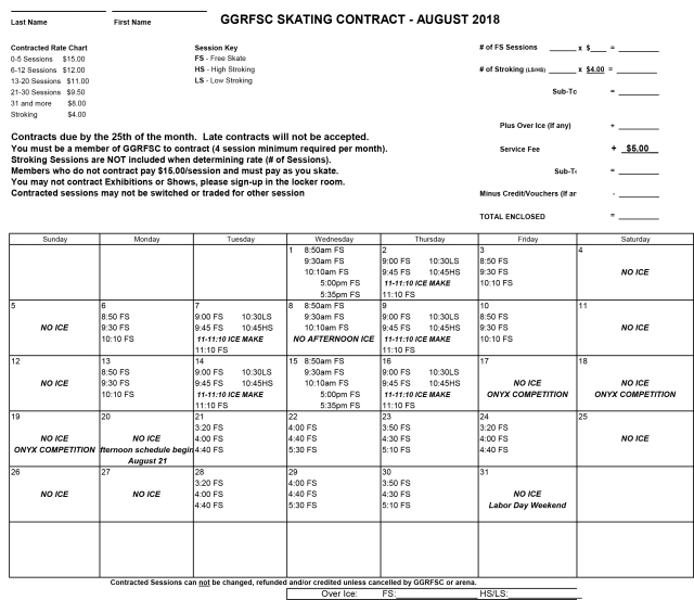 GGRFSC 2018 August CONTRACT