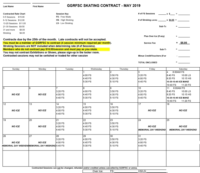 GGRFSC 2019 May CONTRACT