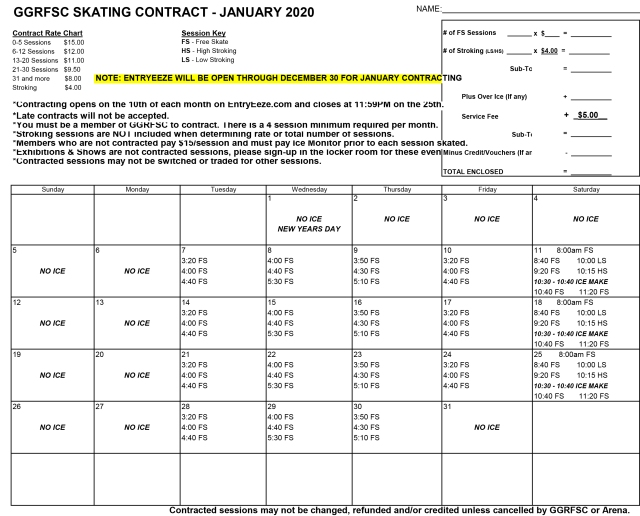 GGRFSC 2020 01 January CONTRACT