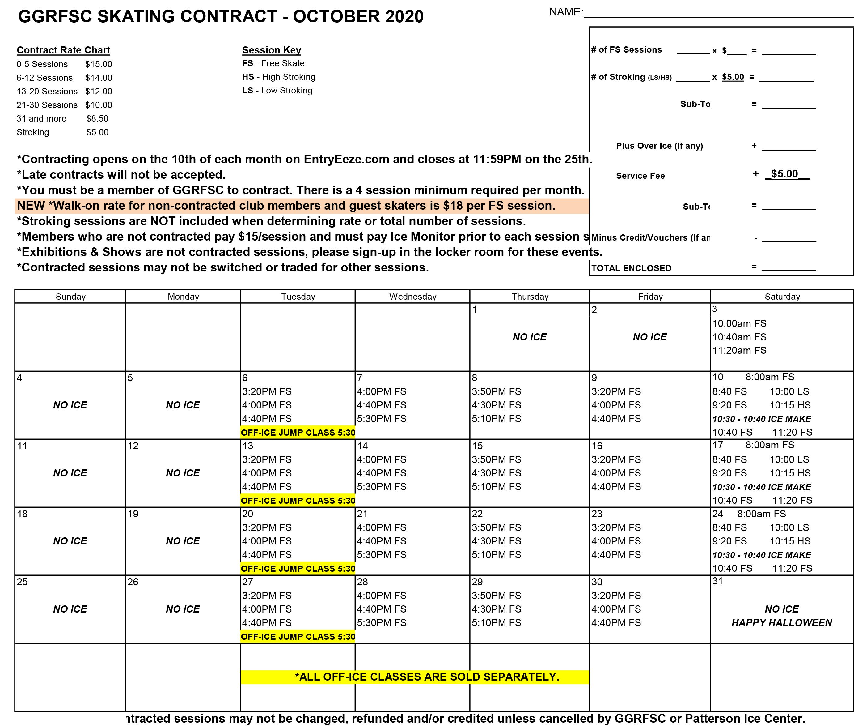 GGRFSC 2020 10 October Contract